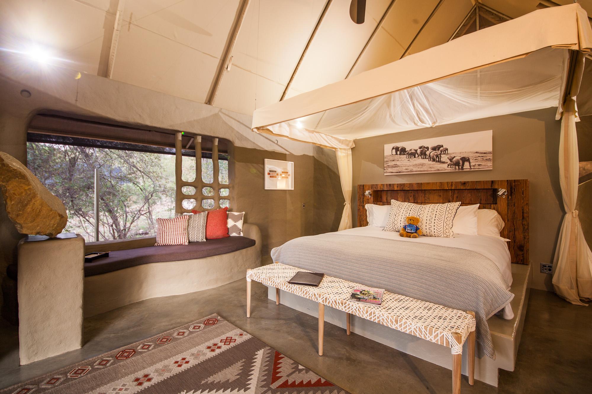 safari camp accommodation