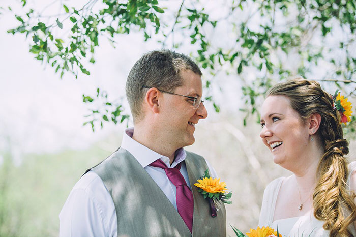 Ruth & Adam's Bush Wedding at Garonga Safari Camp