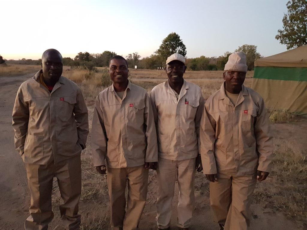 Farm and Maintenance team at Garonga