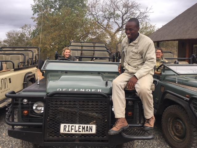 Garonga safari camp, guide, tracker, Sophie, Kaizer