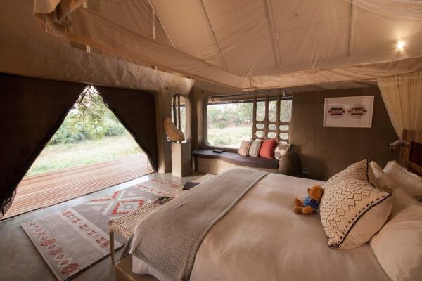 Garonga Safari Lodge tent