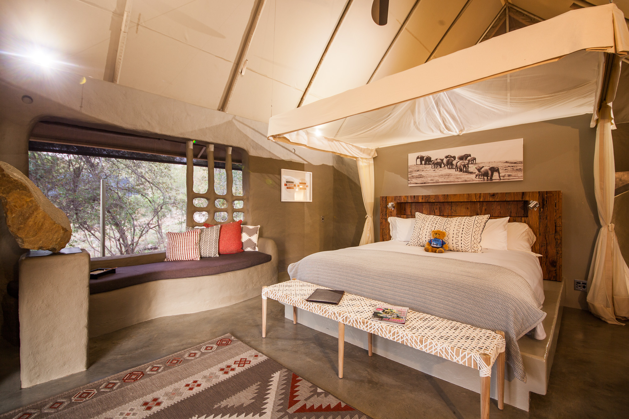 safari camp accommodation