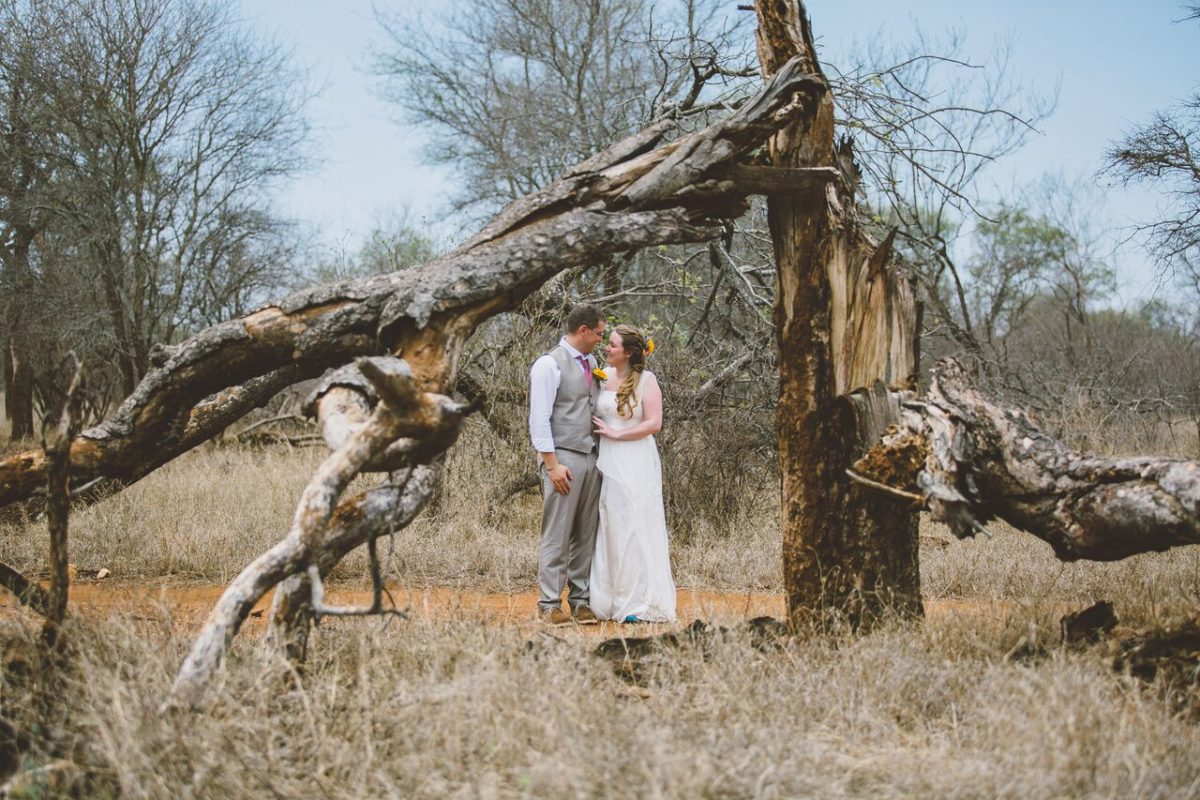 Adam and Ruth's Bush Wedding at Garonga Safari Camp