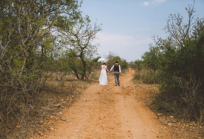 Ruth & Adam marry at Garonga Safari Camp
