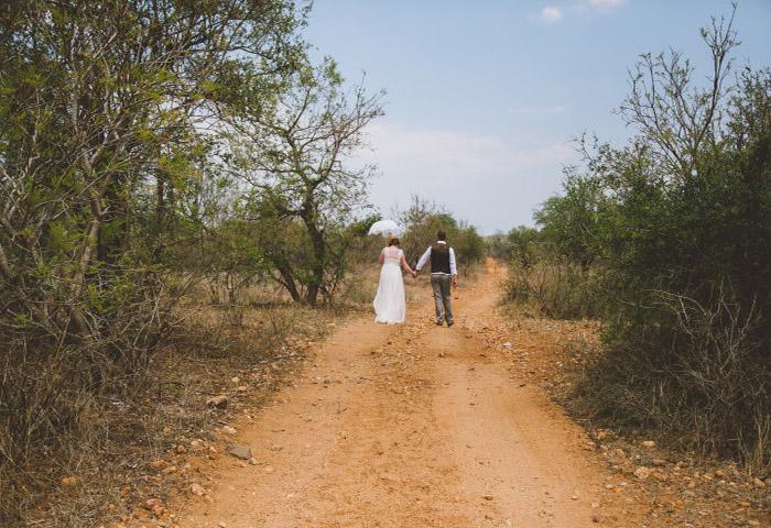 Ruth & Adam marry at Garonga Safari Camp
