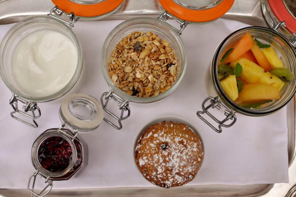 Breakfast Tray at Garonga Safari Camp