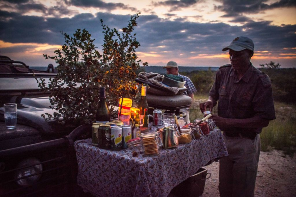 Safari Snacks at Garonga Safari Camp