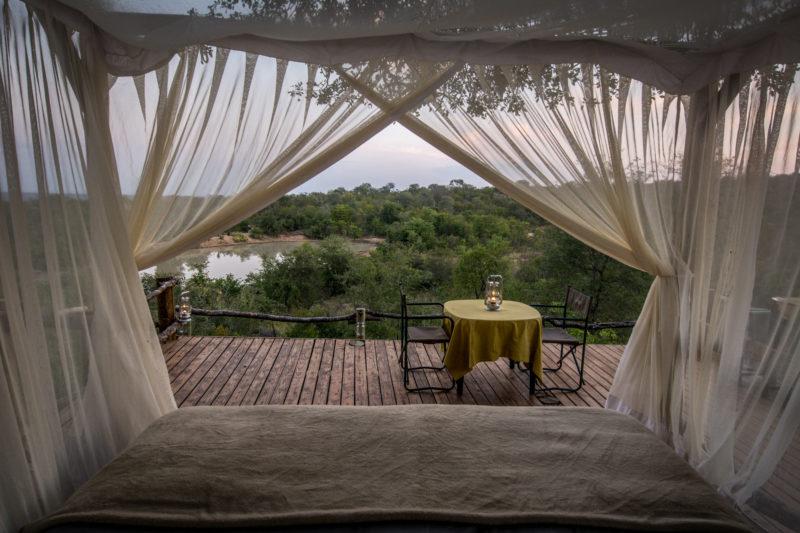 Garonga, South African Safari, Safari Camp, Sleep Out Deck