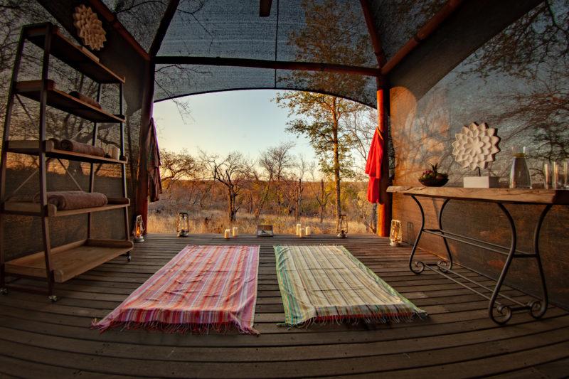 Garonga, Safari Camp, Yoga Deck