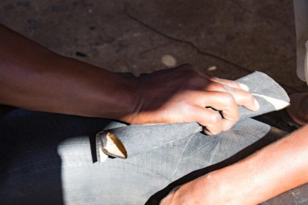 Tyre Repair, Hard at Work, Behind the Scenes, Luxury Safari
