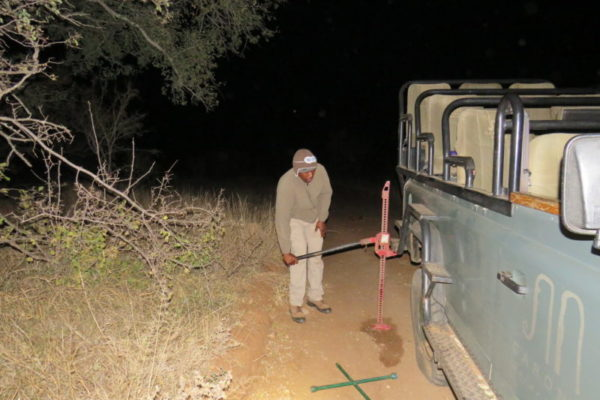 Tyre Change, Midnight Adventure, Luxury Safari