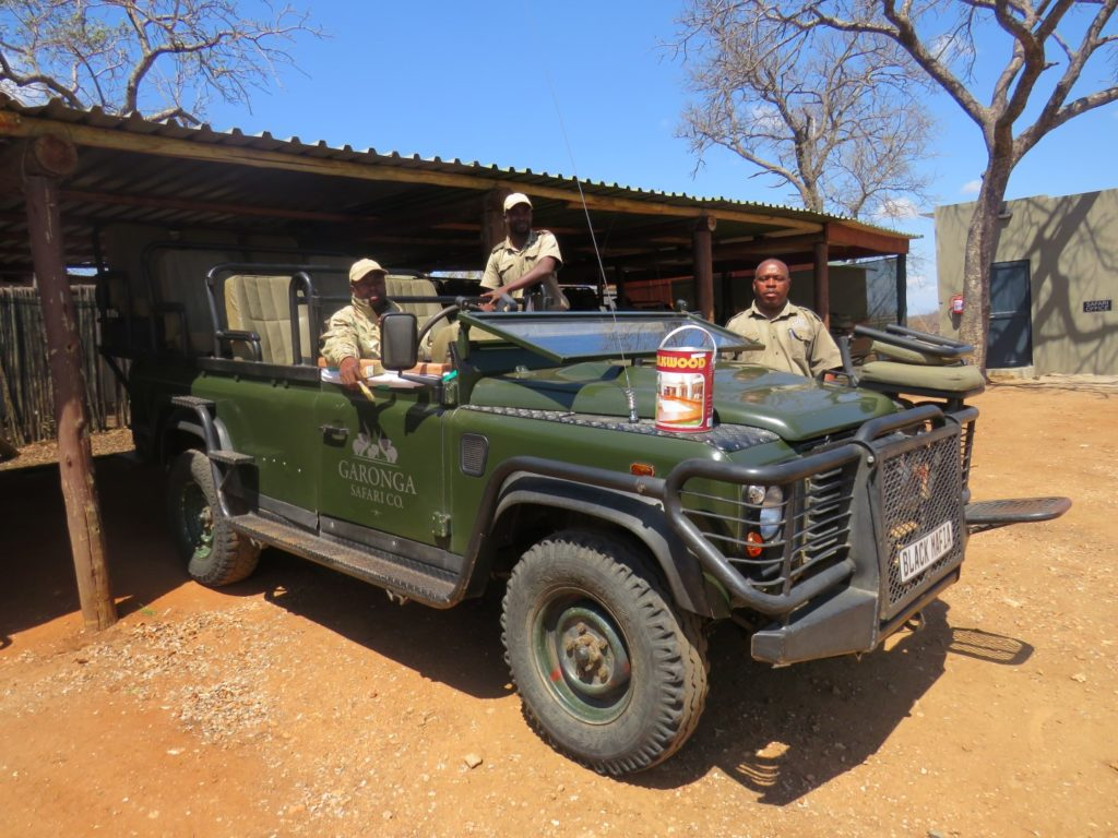 Vehicle Maintenance at Garonga Safari Camp