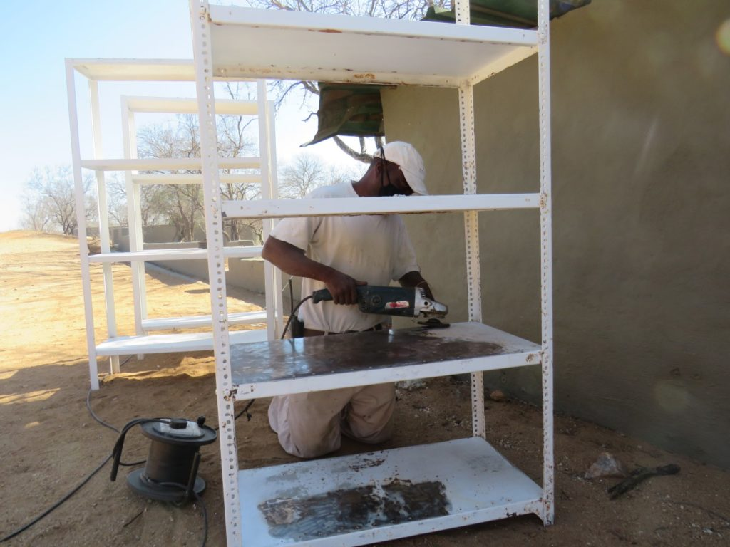 maintenance at Garonga Safari Camp