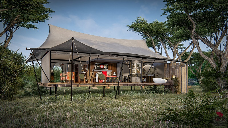 private tented camp, luxury safari camp, Garonga Safari Company, Big 5 safari, Big 5 safari South Africa